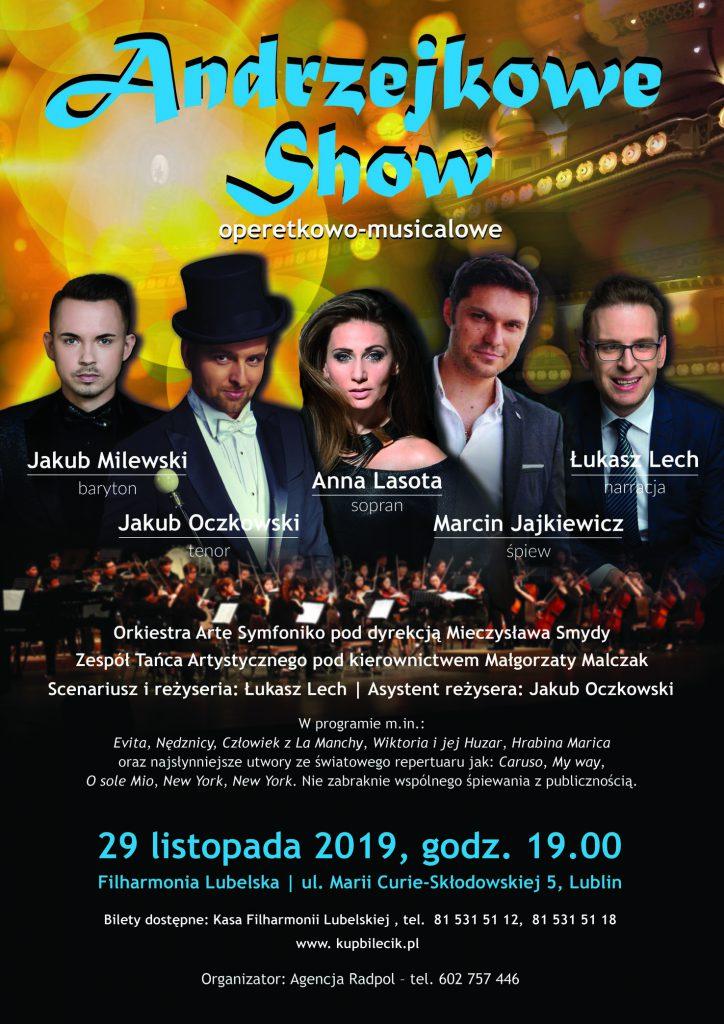 Andrzejkowe show operetkowo-musicalowe
