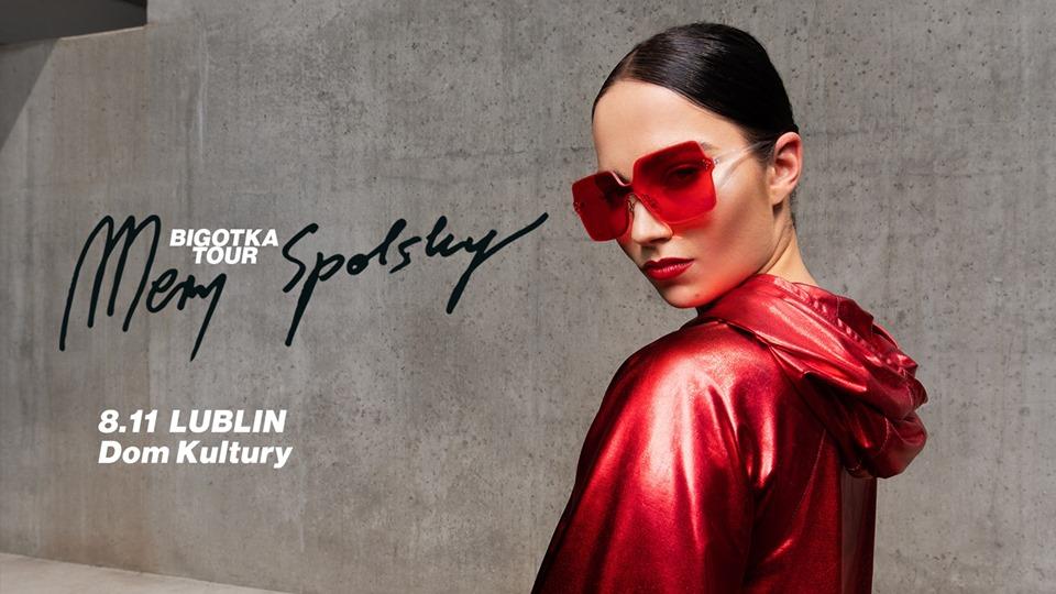 """8 listopada w lubelskim Domu Kultury Mery Spolsky – promocja najnowszej płyty, pt. """"Dekalog Spolsky""""."""