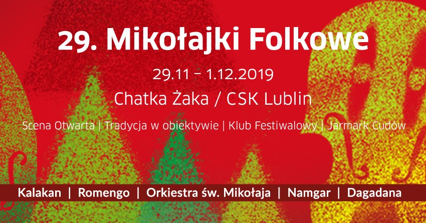 Kulturalny rozkład jazdy na weekend: 29 listopada – 1 grudnia spędź w Lublinie!