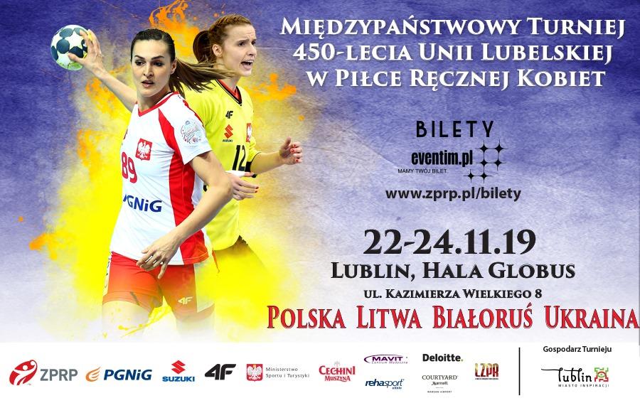Międzypaństwowy turniej 450-lecia Unii Lubelskiej w piłce ręcznej kobiet