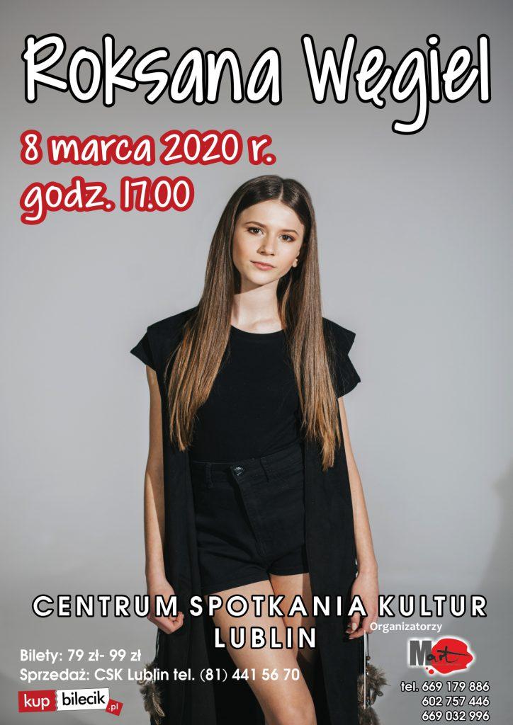 8 marca 2020 CSK w Lublinie – Roksana Węgiel