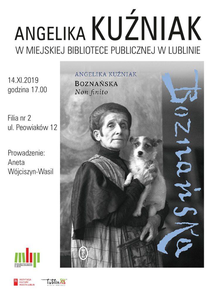 Boznańska. Non Finito spotkanie autorskie w MBP