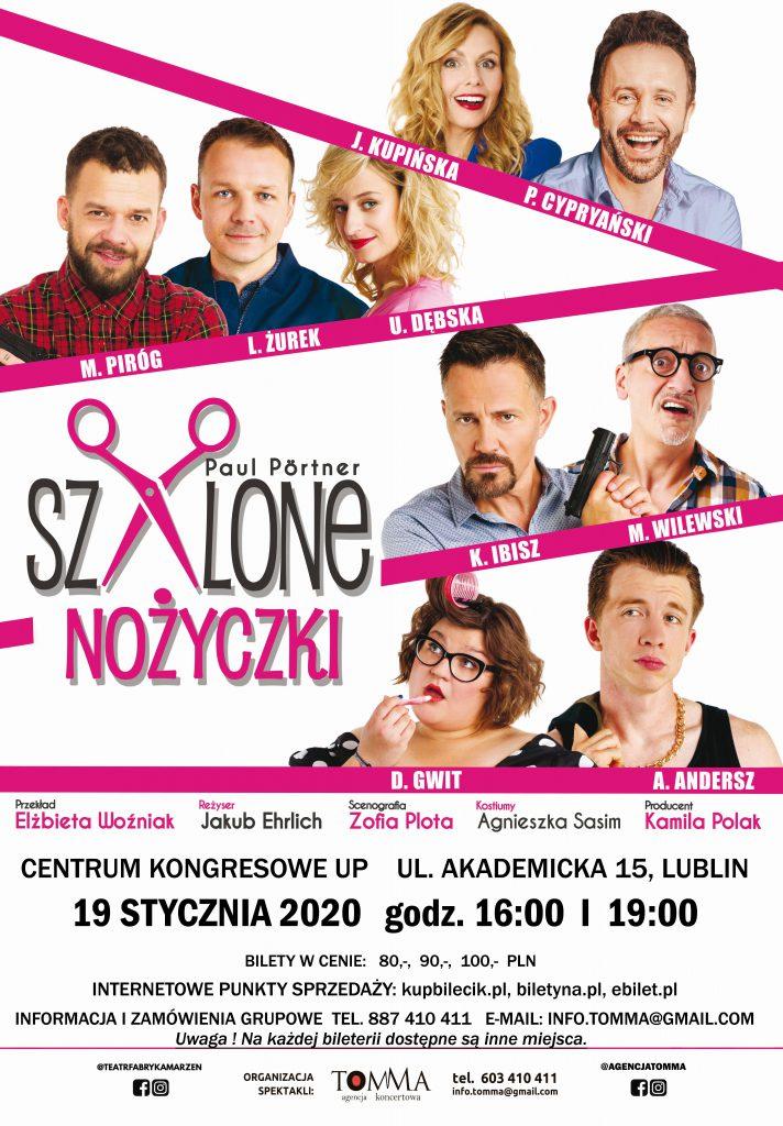 Szalone Nożyczki  już 19 stycznia w Lublinie