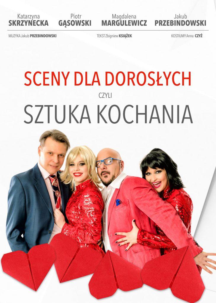 Sceny dla dorosłych, czyli sztuka kochania 1 marca w Lublinie