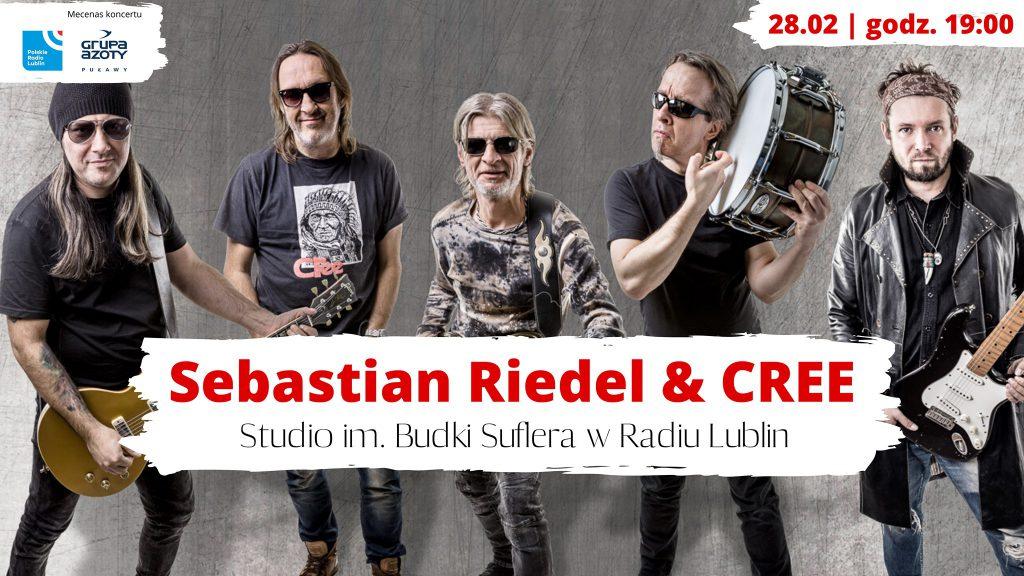 28 lutego, godz. 19.00, Studio im. Budki Suflera w Radiu Lublin – Cree (Nie tylko rock'n'roll)