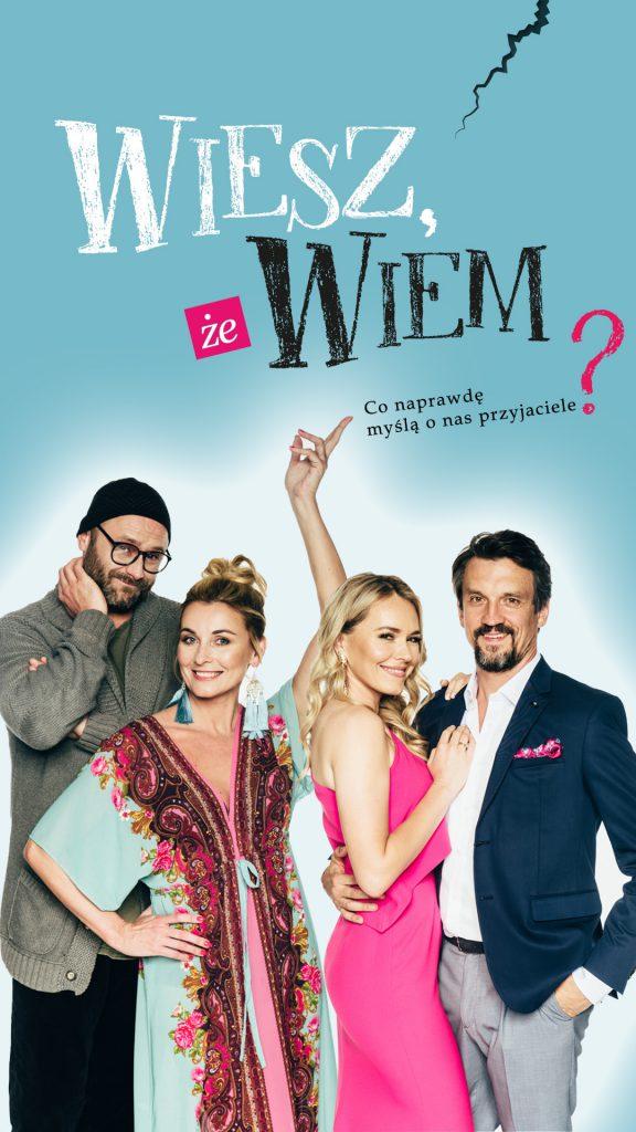 Wiesz, że wiem? – spektakl komediowy 17.10.2021 w CSK Lublin