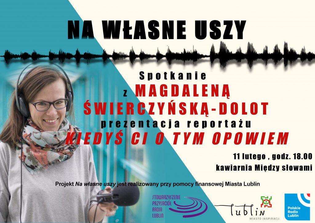 Na własne uszy 11 luty Studio Radia Lublin