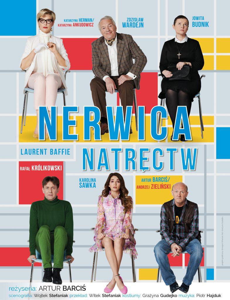 Nerwica natręctw – spektakl komediowy 28 marca CSK w Lublinie