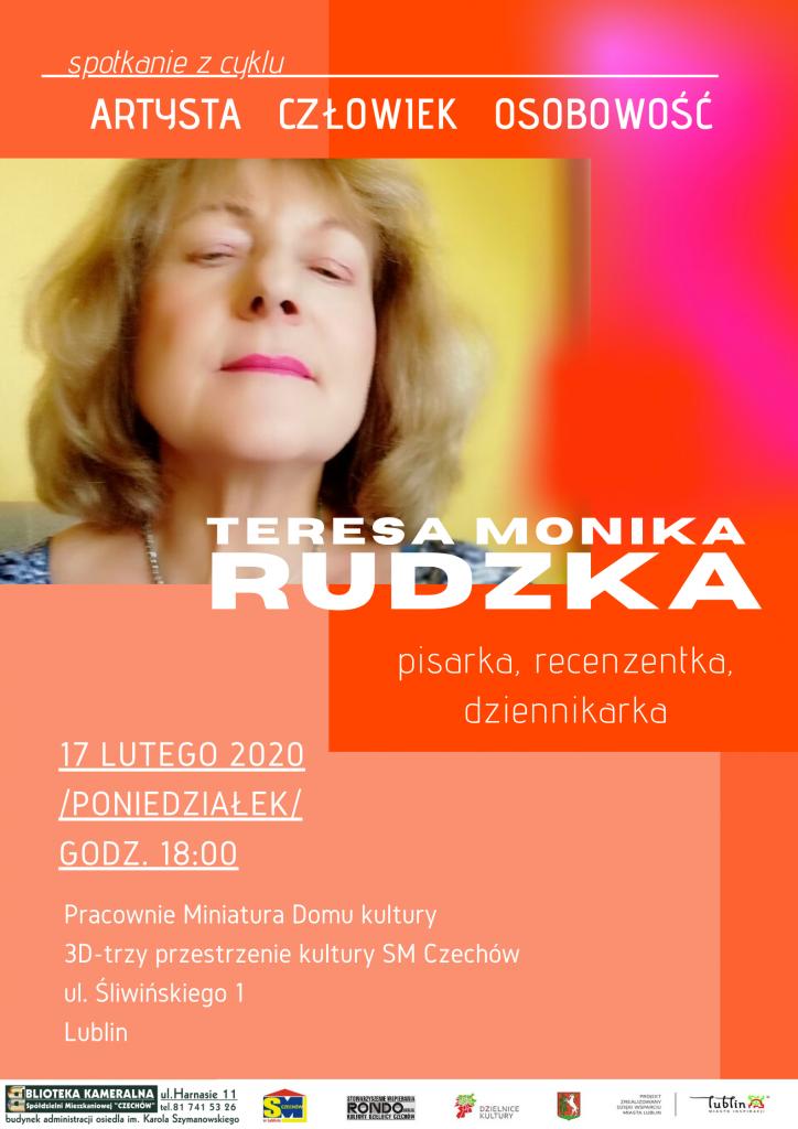Spotkanie z Teresą Moniką Rudzką