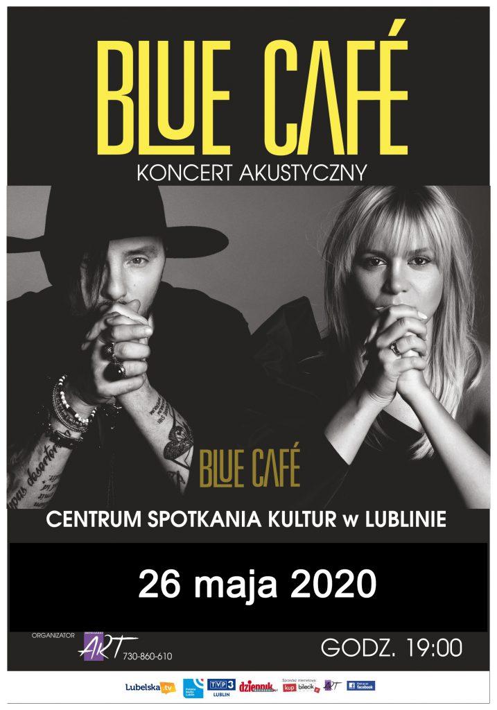 BLUE CAFE koncert akustyczny 26 maja 2020 Lublin