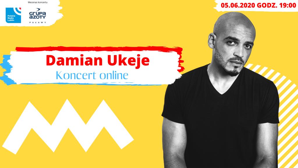Nie tylko rock'n'roll koncert Damiana Ukeje.