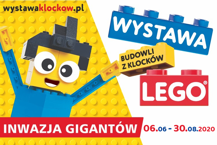 INWAZJA GIGANTÓW – wystawa budowli z klocków LEGO