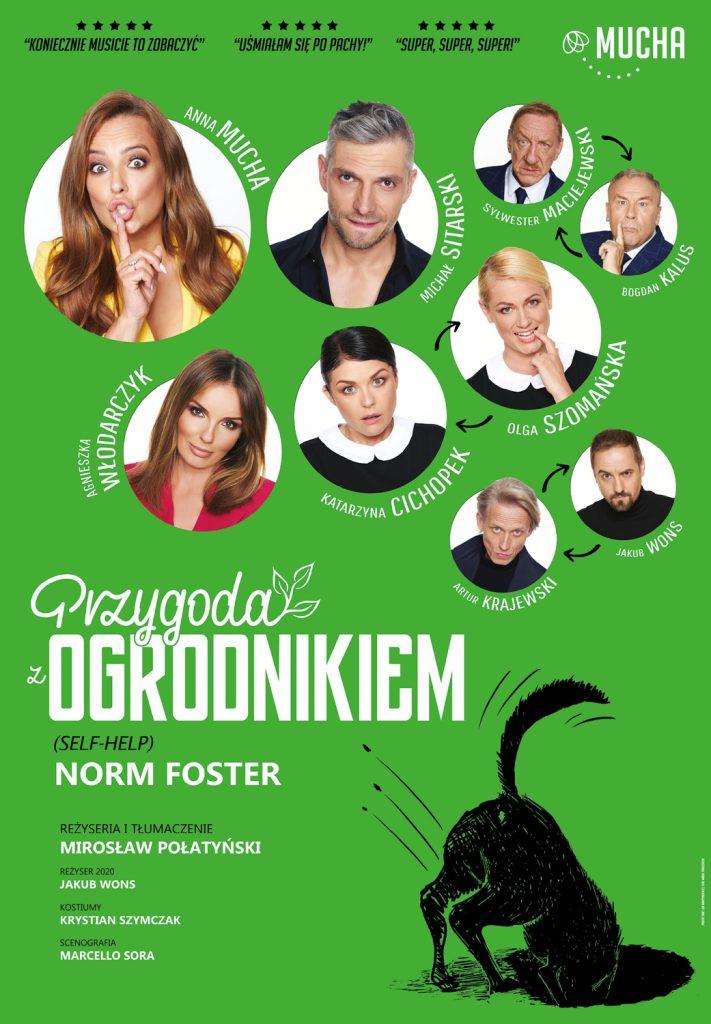 Przygoda z ogrodnikiem  – spektakl komediowy w CSK w Lublinie zmiana terminu