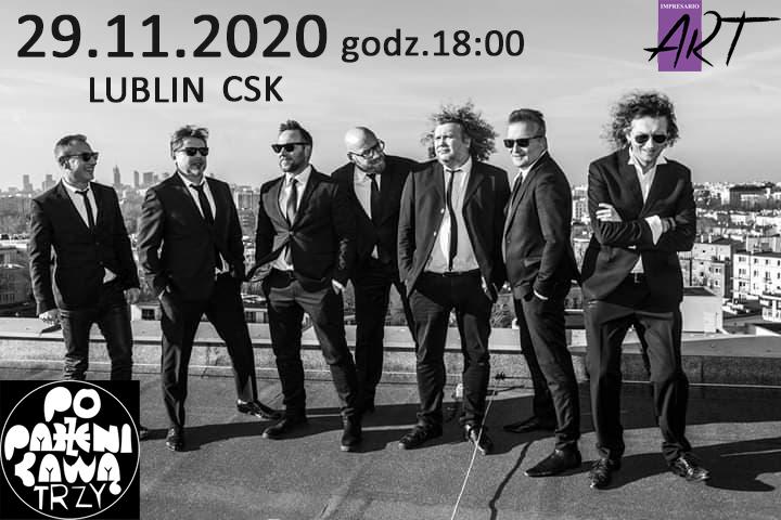Poparzeni Kawą Trzy 29.11.2020 w Lublinie
