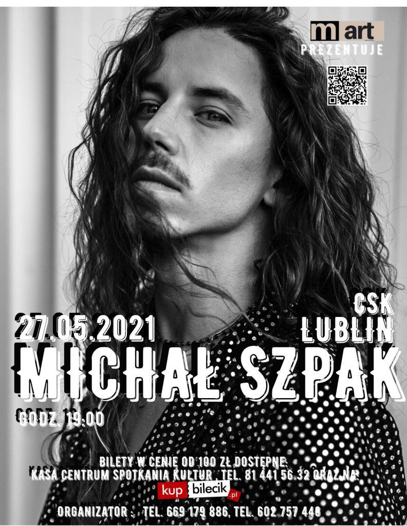 Michał Szpak w Lublinie 27.05.2021