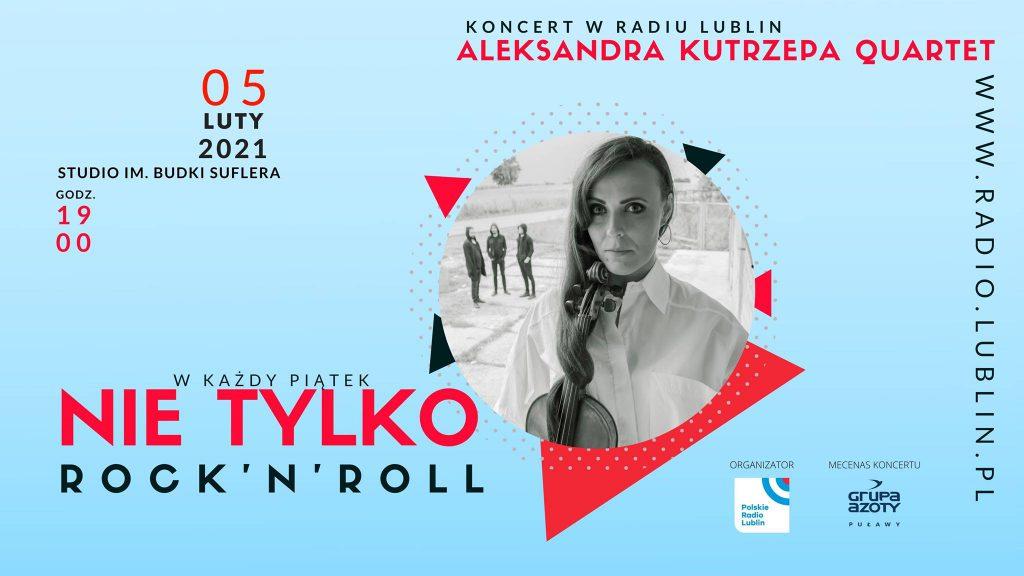 5 lutego, godz. 19.00 w cyklu Nie tylko rock'n'roll koncert Aleksandra Kutrzepa Quartet.