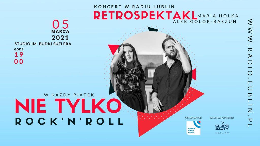 Koncert Marii Holki i Alka Baszuna w Radiu Lublin