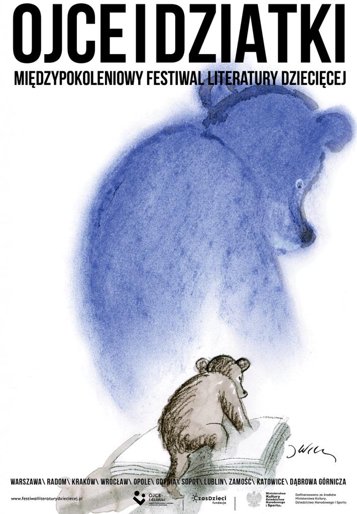 Odliczamy do Międzypokoleniowego Festiwalu Literatury Dziecięcej – Ojce i Dziatki!