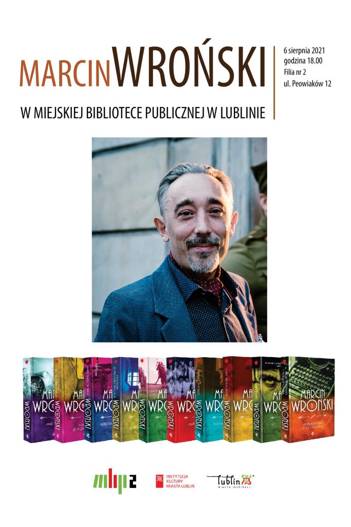 Marcin Wroński w Miejskiej Bibliotece Publicznej