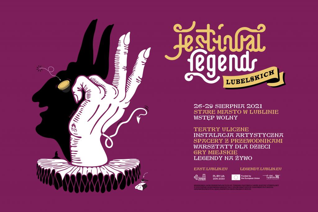 Festiwal Legend Lubelskich, czyli wielkie święto miejskich opowieści, gawędziarzy, klechdarzy i teatru ulicznego.