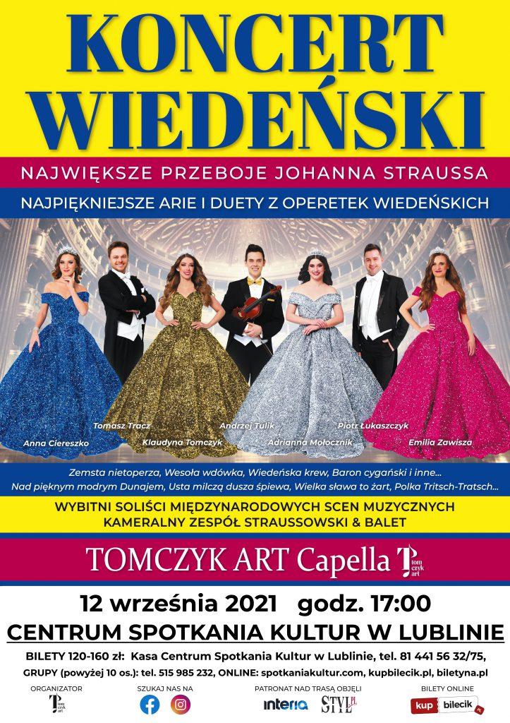 Spektakl pt. KONCERT WIEDEŃSKI w Lublinie