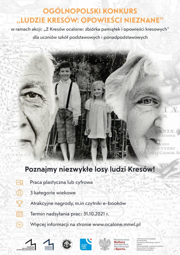 """Konkurs """"Ludzie Kresów: opowieści nieznane"""""""