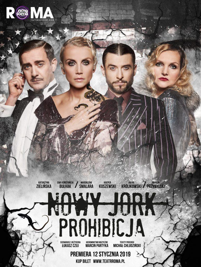 Nowy Jork. Prohibicja – spektakl muzyczny w Centrum Spotkania Kultur w Lublinie