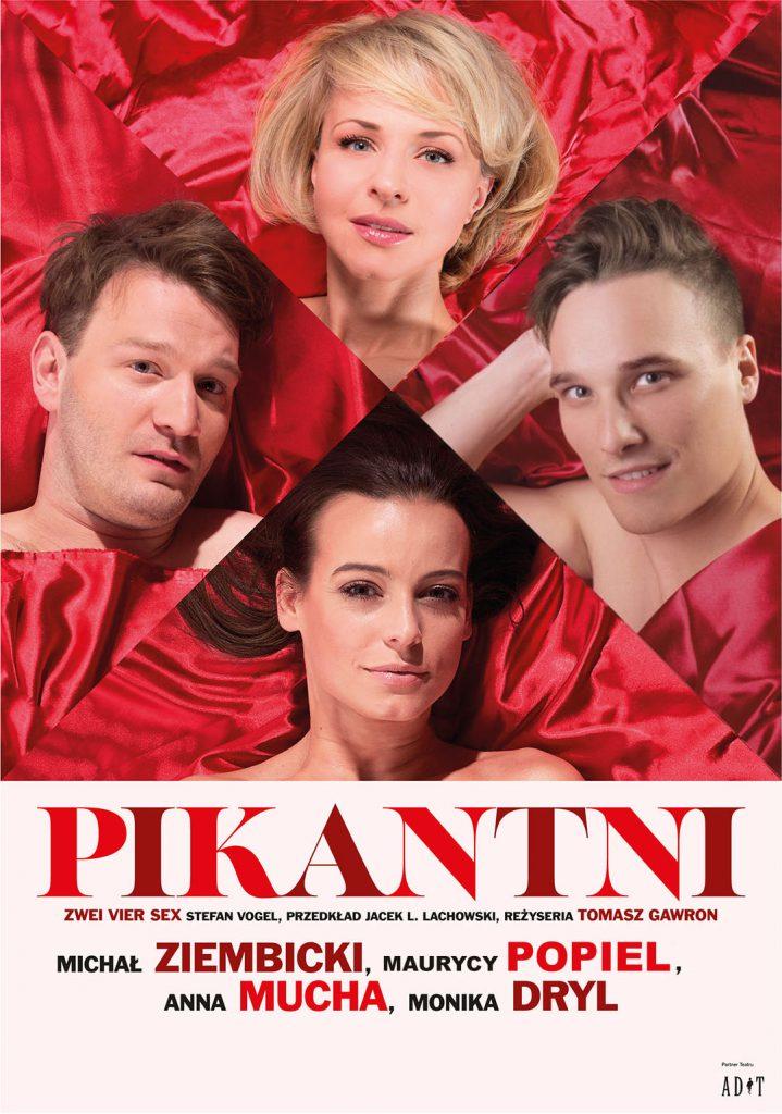 Spektakl komediowy Pikantni w Centrum Spotkania Kultur w Lublinie