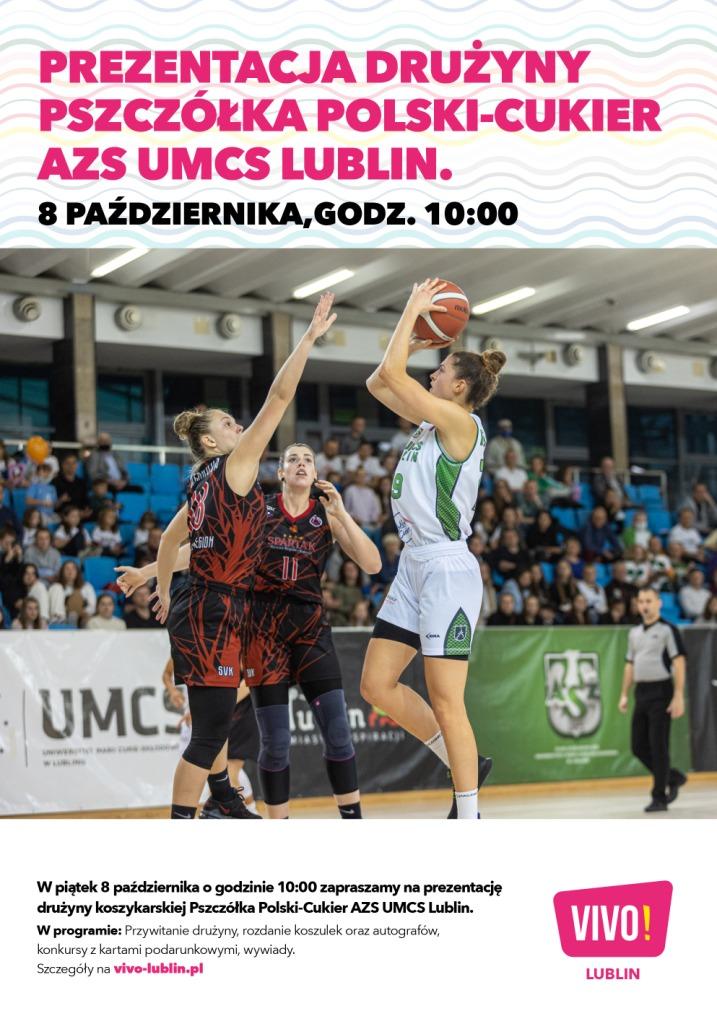 Spotkanie z koszykarkami AZS UMCS Lublin w VIVO! już 8 października